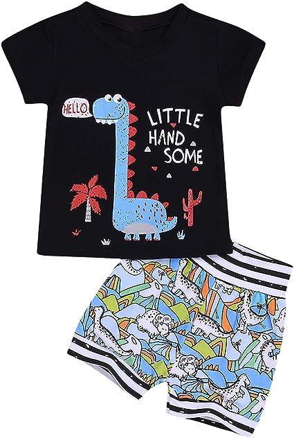 Borlai - Juego de ropa de algodón para bebé (2 piezas), diseño de ...