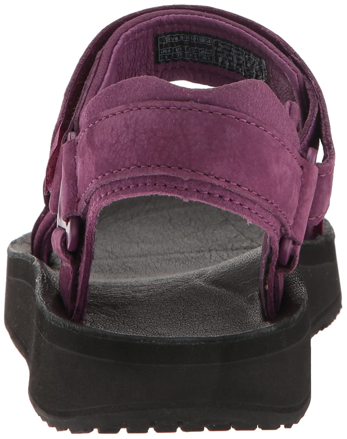 Teva Women's W Original Universal Premier-Leather Sandal B01IPRI2N6 10 M US|Dark Purple
