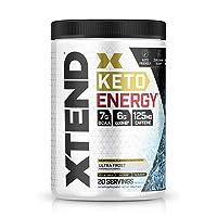 Xtend Keto Energy | The Perfect Keto & BCAA Powder Ultra Frost | 125mg Caffeine...