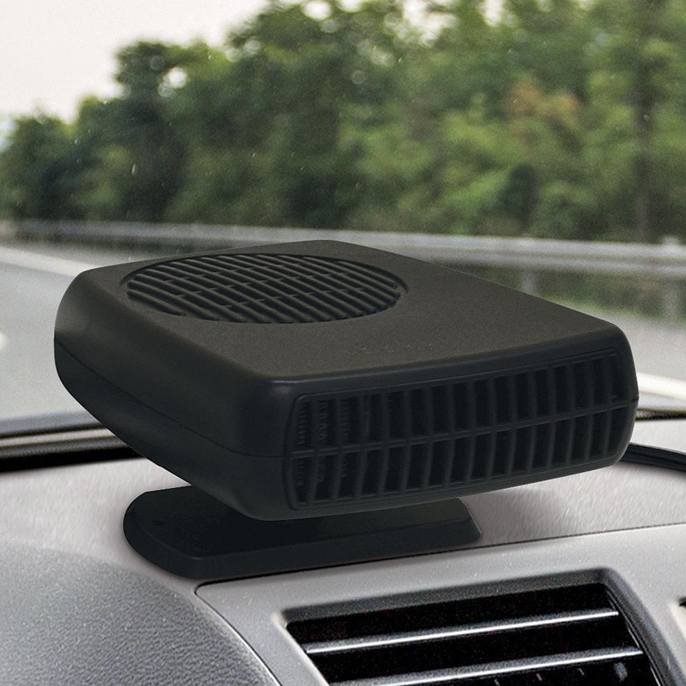 Jiayuane Ventilador del Calentador de autom/óviles Ventilador de enfriamiento del veh/ículo de 12 voltios Calentador Caliente del Parabrisas Desempa/ñador desempa/ñador 2 in1 Auto Car Van Van