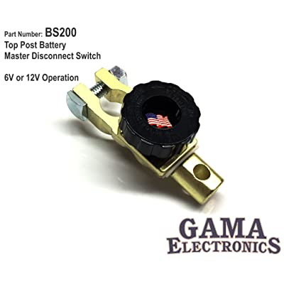 Top Post Battery Master Disconnect Switch: Automotive
