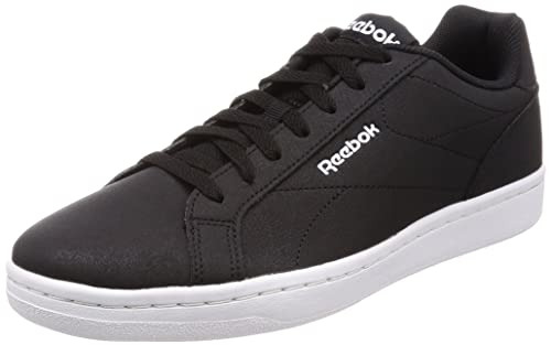 3725d059ba1 Reebok Men s Royal Complete CLN Black Ash Grey White Tennis Shoes - 10 UK