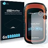 6x Savvies Protector Pantalla para Garmin eTrex 20Protector - Transparente