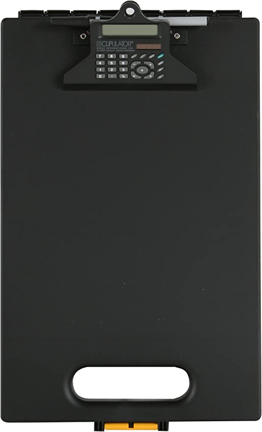 clipboard with calculator black