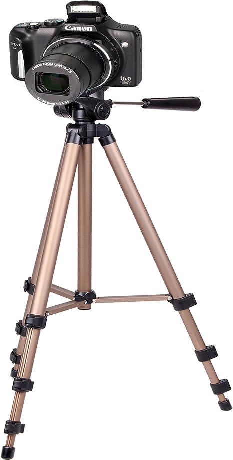 Duragadget - Trípode plegable para cámaras réflex digitales Canon ...