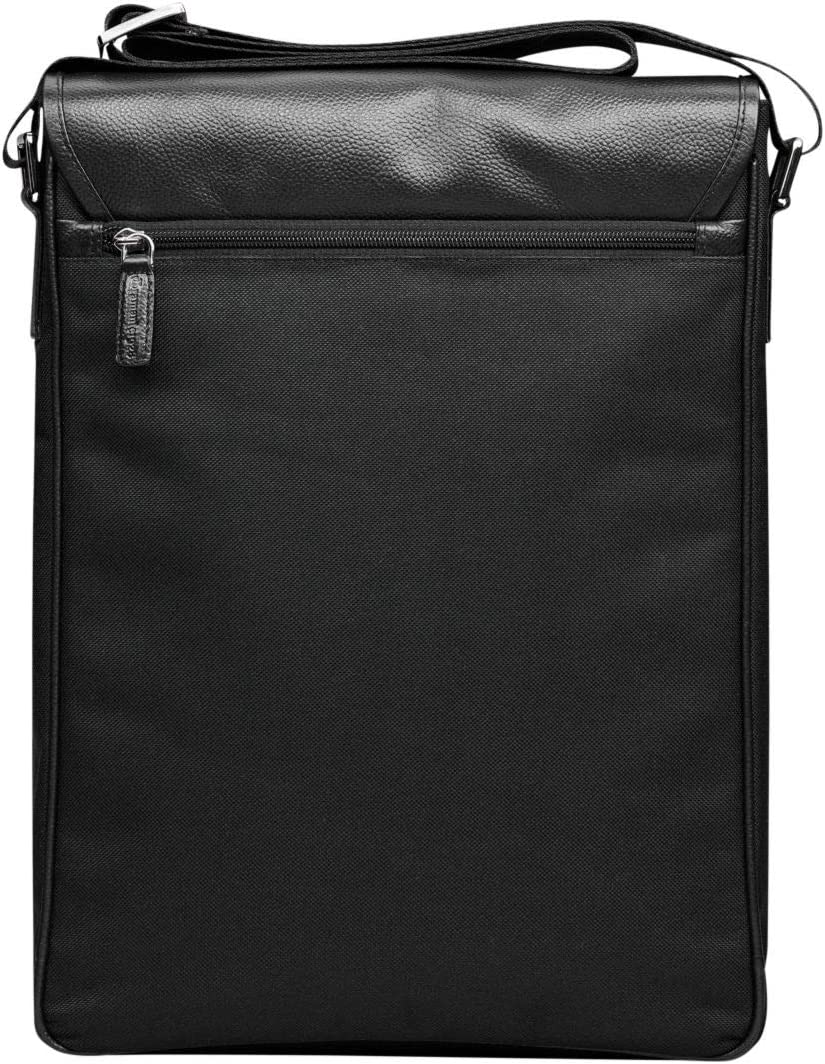 14 Inch Laptop Messenger Bag dbramante1928 Avenue Collection Orchard Black