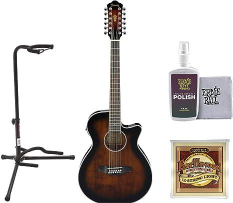 Ibanez AEG1812II AEG 12 - Guitarra acústica eléctrica (violín ...