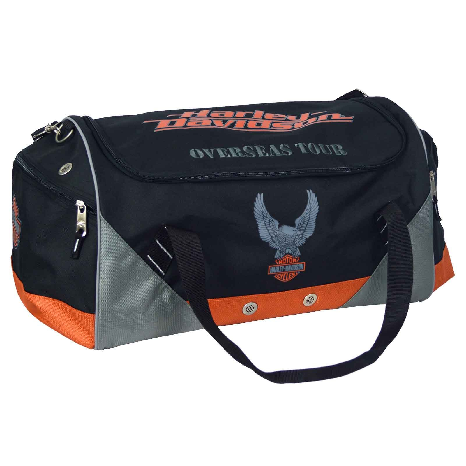 Harley-Davidson Military Sports and Travel Duffel Bag - Overseas Tour