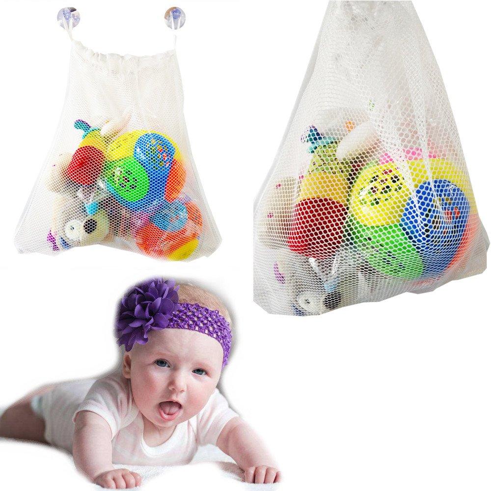 Euone  Bath Toy Net, Fashion Baby Bath Bathtub Toy Mesh Net Storage Bag Organizer Holder Bathroom