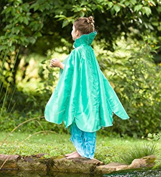 Magic Cabin Capa de Disfraz de Sirena para niños - Accesorio para ...