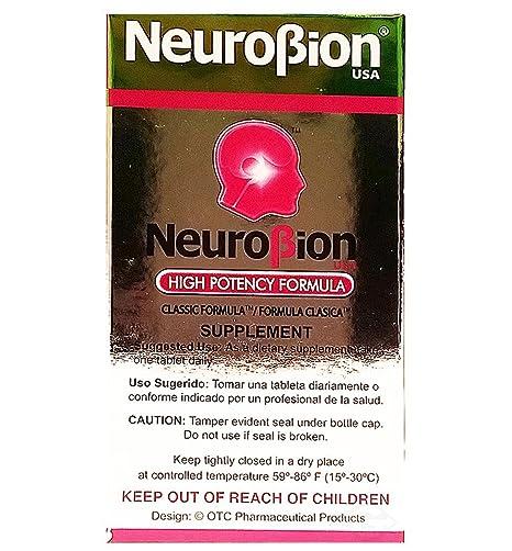 Amazon.com: OTC Neurobion Dietary Supplement 50 units - Suplemento Multivitaminico (Pack of 24): Health & Personal Care