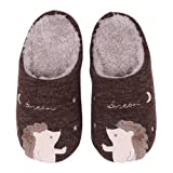 Amazon Price History for:Cute House Slippers Dog Penguin Animal Indoor Home Slippers Winter Fuzzy Bedroom Slippers For Kids