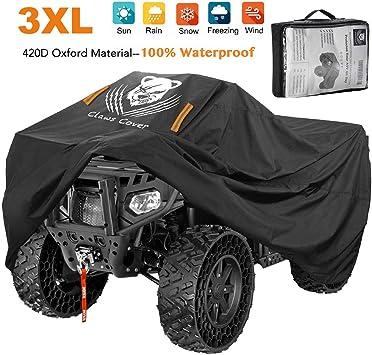 100 x 43 x 47/'/' ATV Cover w// Storage Bag Heavy Duty Dust Waterproof Protector US