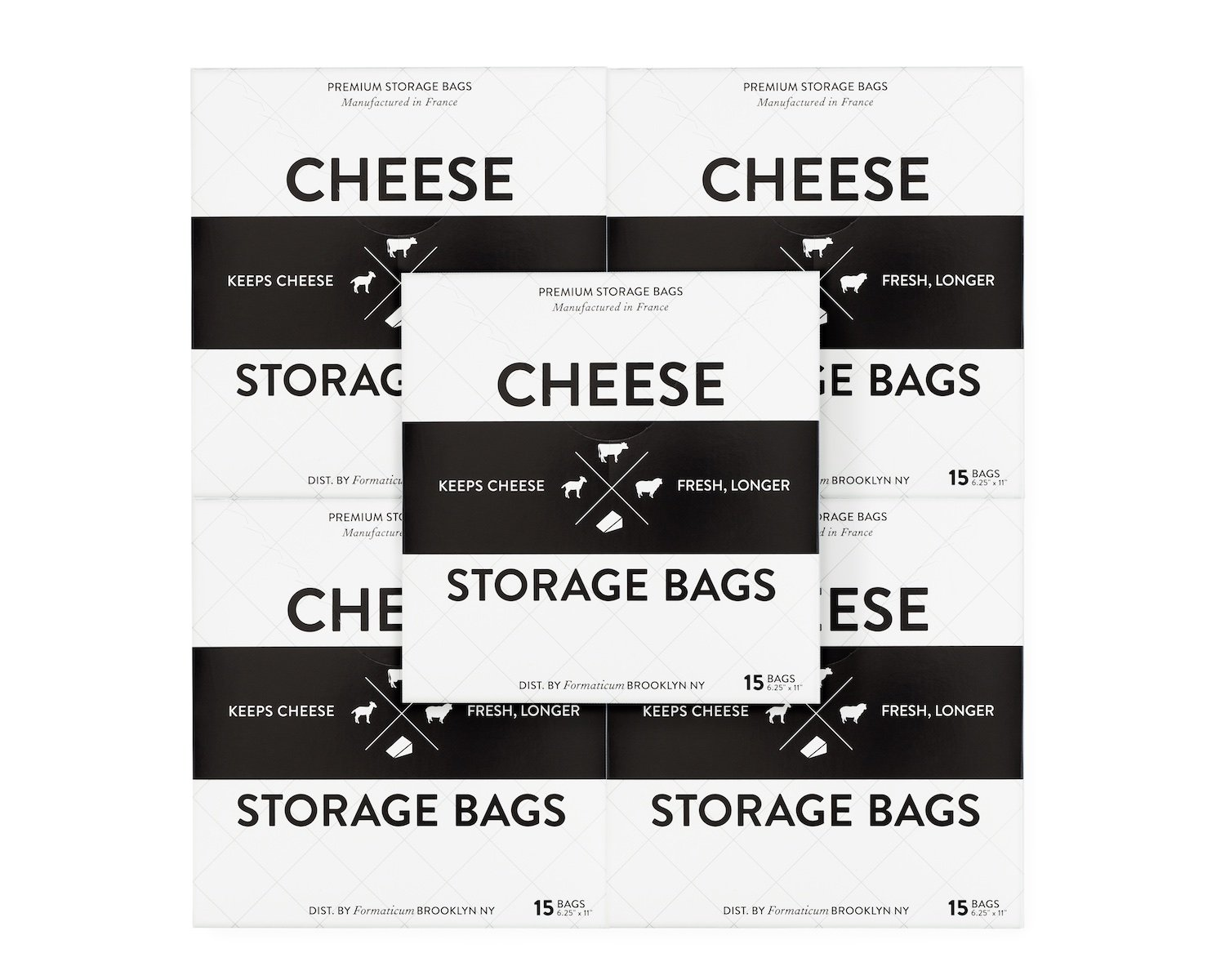 Formaticum Cheese Storage Bags 75 Count
