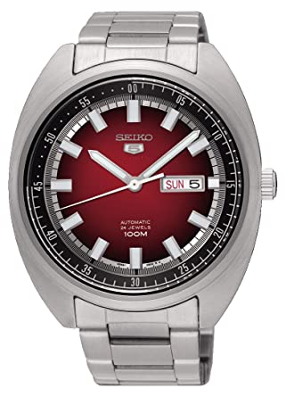 Seiko Reloj Analogico para Hombre de Mecánico con Correa en Acero Inoxidable SRPB17K1: Amazon.es: Relojes