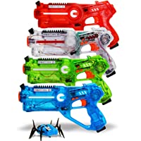 4-Pack Dynasty Toys Family Laser Tag Set Deals