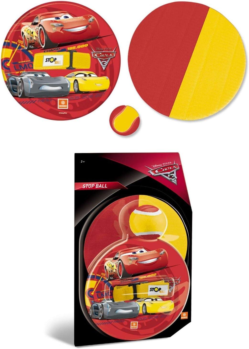 Mondo Disney Cars - Pelota y Disco con Velcro: Amazon.es: Juguetes ...