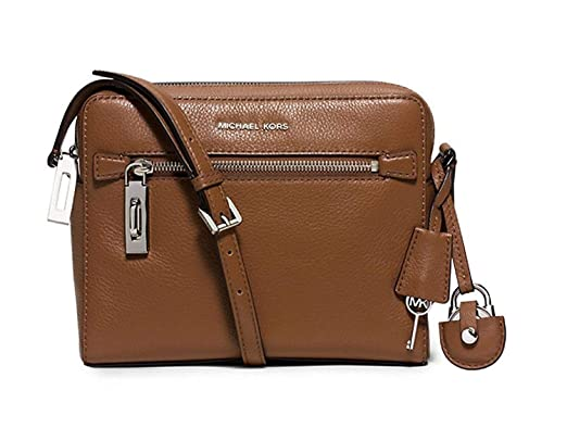 d626b8605faf4f Image Unavailable. Image not available for. Color: MICHAEL KORS Zoey Leather  Crossbody ...