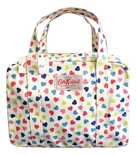 13e7316c4a128 Cath Kidston mini zip bag oilcloth confetti hearts: Amazon.co.uk ...