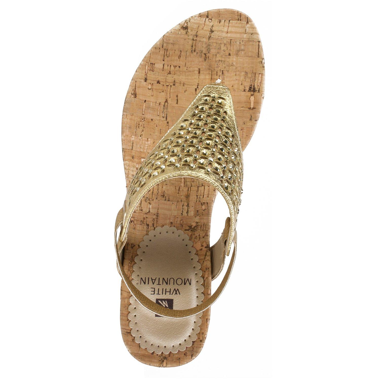 a808f582f53a Amazon.com | WHITE MOUNTAIN Shoes Arnette Women's Sandal | Flip-Flops
