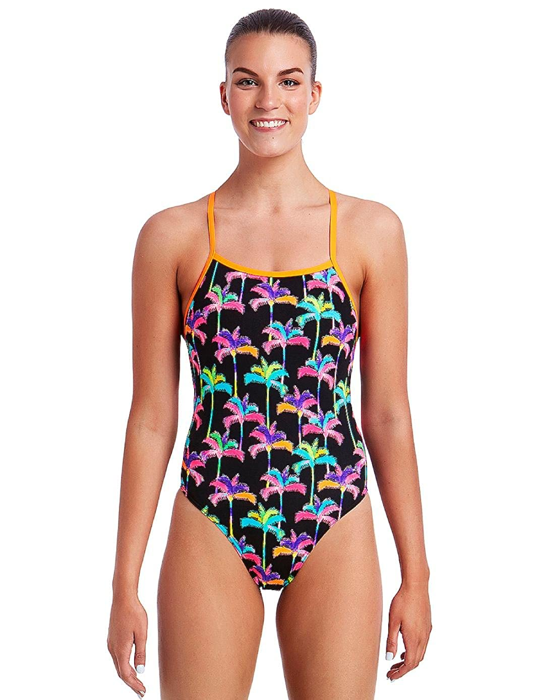 30550b69fa Palm Drive Tie Me Tight Swimsuit  Amazon.co.uk  Clothing