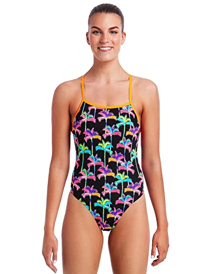 ac8cd754fb Funkita Ladies Palm Drive Tie Me Tight Multicoloured One Piece Swimsuit ( Ladies 8   EU