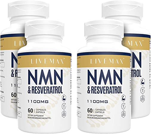 NMN+Resveratrol 240 Capsules, Powerful Antioxidant Supplement for Heart  Health & Anti-Aging, Enhanced with Black Pepper Extract for Higher  Absorption: Amazon.co.uk: Health & Personal Care