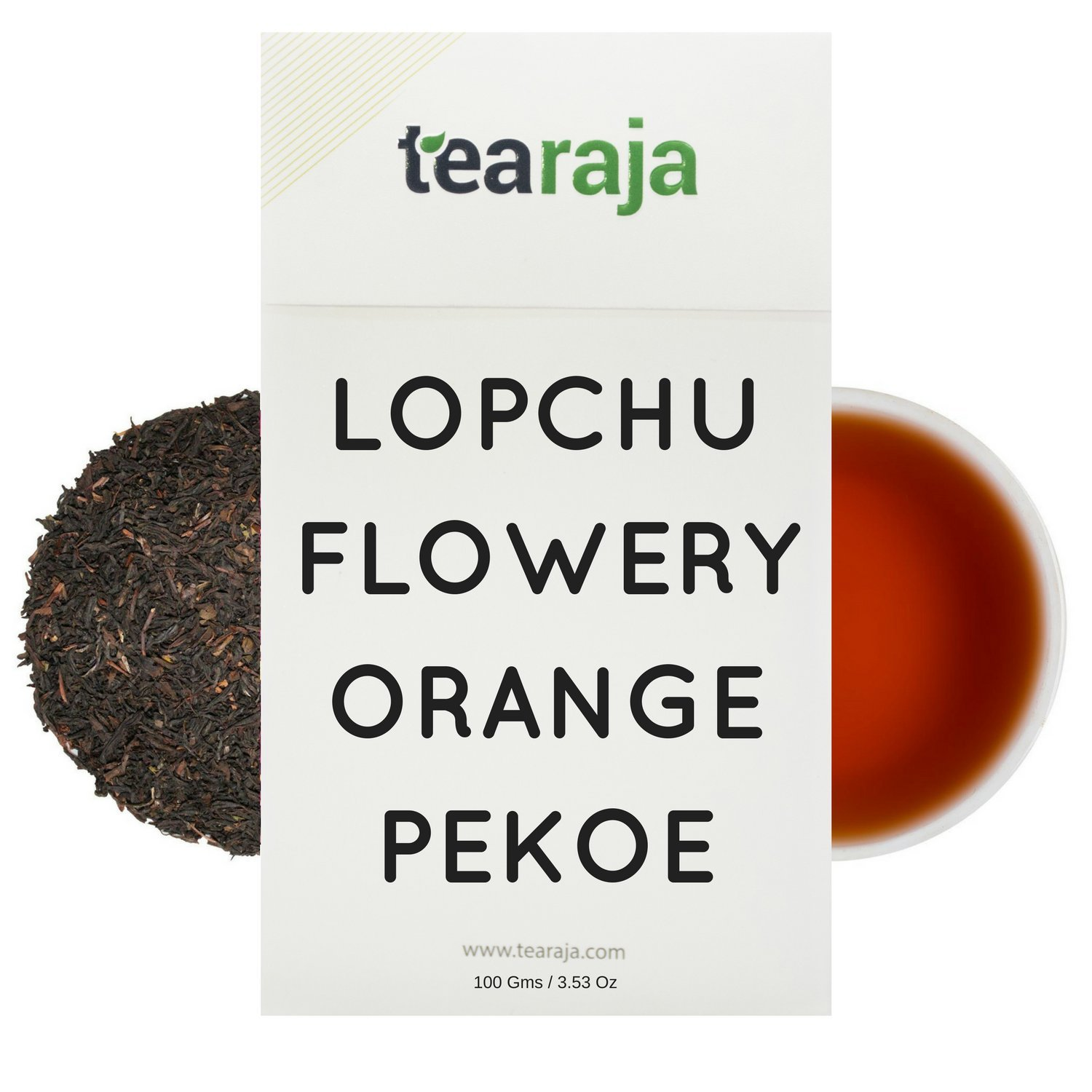 Tearaja Lopchu Flowery Orange Pekoe Darjeeling (3.5 Oz) Burnt Wood Flavour Tea, Shipped directly from India