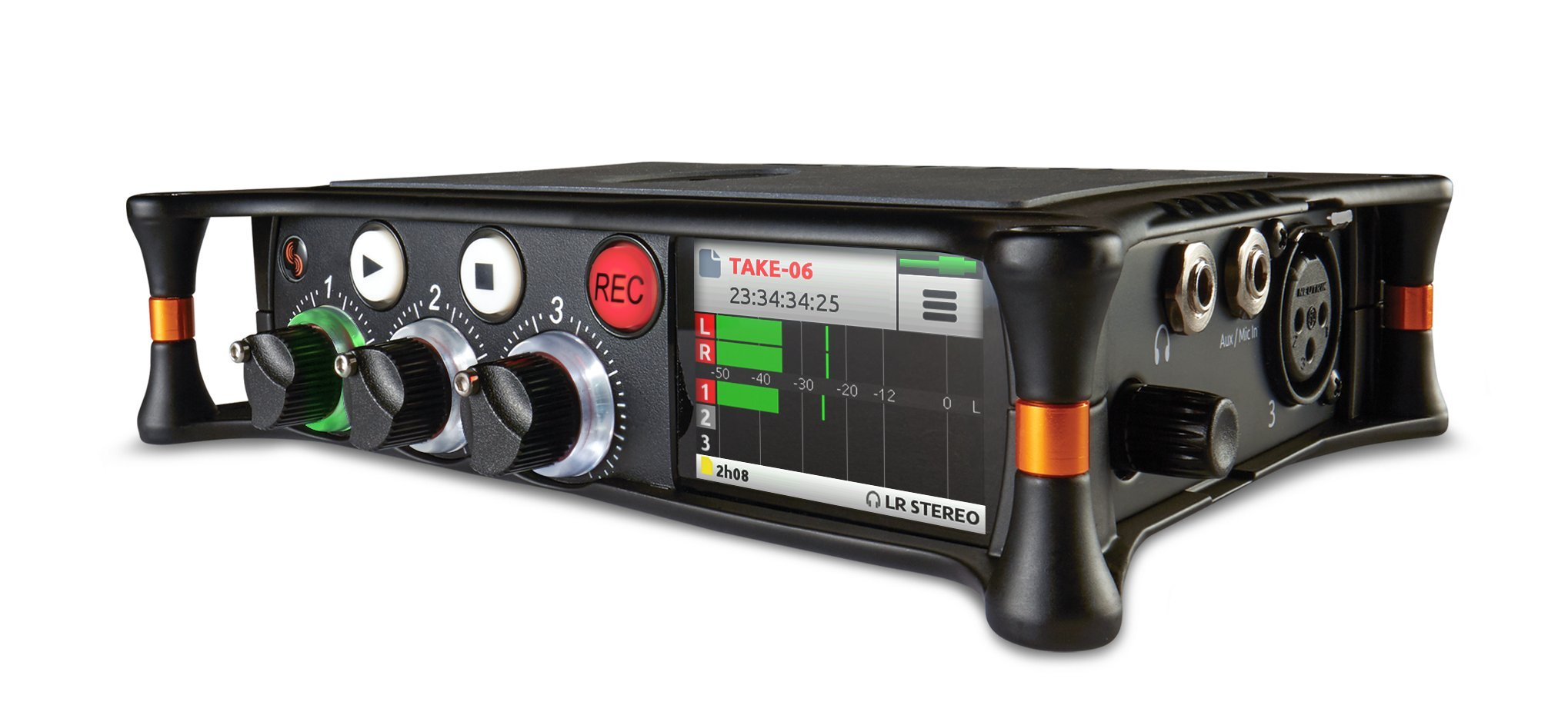 Sound Devices MixPre-3 Portable Multichannel Audio Recorder/Mixer, and USB Audio Interface