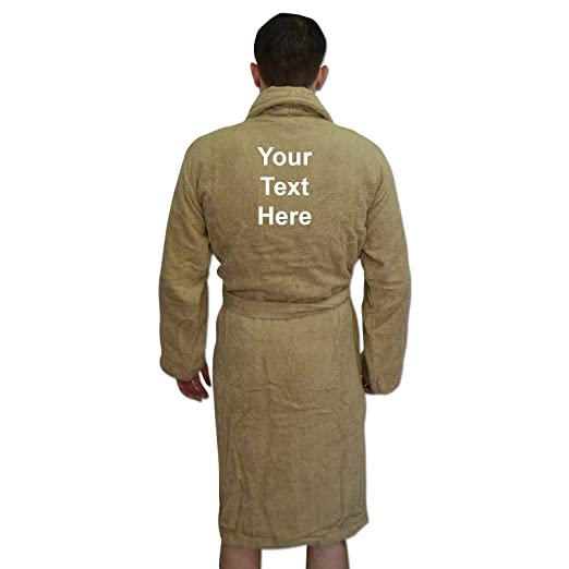 Amazon.com  Men s Bathrobes Personalised Father s Day Dad Dressing Gown  Birthday Gift  Clothing 09fd4261f