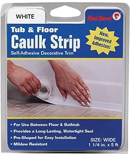 Amazoncom Magic Tub And Wall Peel Caulk Strip Create A Tight - Best caulk for plastic tub surround