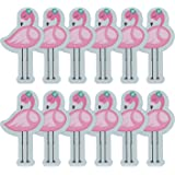 Fun Express Flamingo Sticky Notes | 12 Count | Great for Summer Luau Hawaiian Birthdays, Themed Party Favors, School Supplies