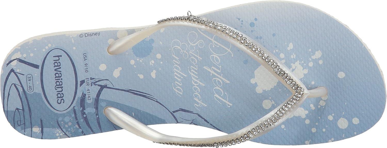 54740b6c1 Havaianas Women s Slim Bridal Belle Sandal White Belle 41-42 BR 11-12 B(M)  US Women 9-10 D(M) US Men  Amazon.co.uk  Shoes   Bags