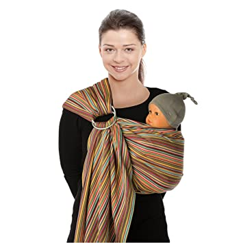 Babylonia Porte Bebe BB Sling Pineapple Amazonfr Bébés - Porte bébé sling