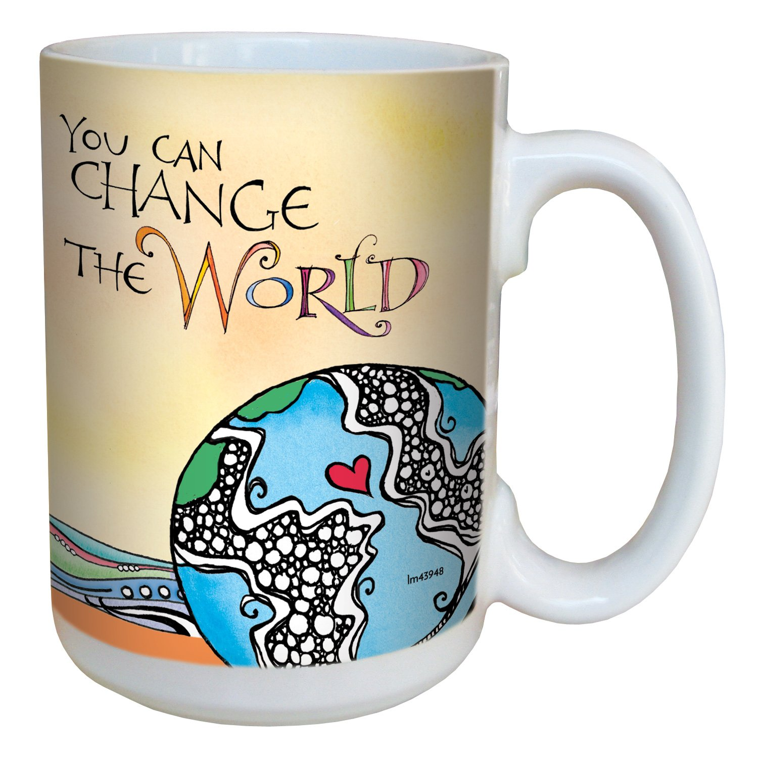Tree-Free Greetings lm43948 You Have a Purpose by Joanne Fink Ceramic Mug with Full-Sized Handle, 15-Ounce Tree Free