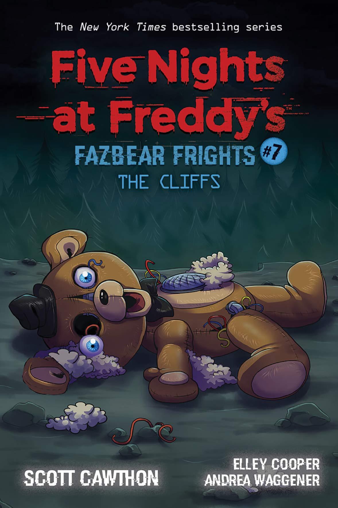 Amazon Com Five Nights At Freddy S Fazbear Frights 7 7 9781338703917 Cawthon Scott Books