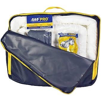 Oil Spill Kit Universal Yellow Duffle Style Truck Hi Vis