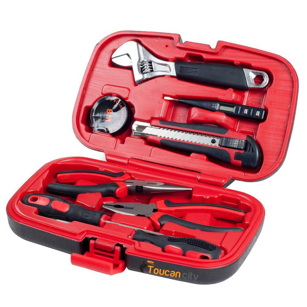 Toucan City Tool kit (9-piece) and Ideal Basic Lockout/Tagout Kit (15-Piece) 44-970 by Toucan City (Image #4)