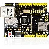 Keyestudio W5100Ethernet Shield de expansión para Arduino UNO MEGA2560con Ranura para Tarjeta SD