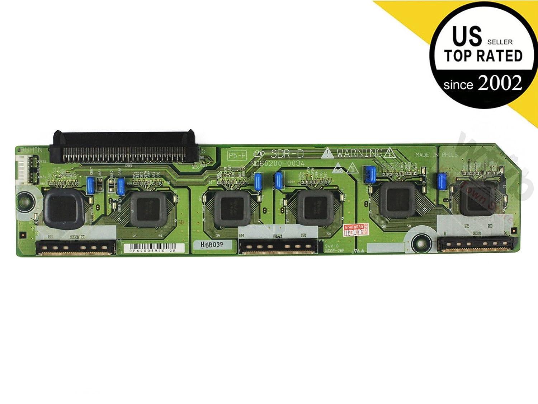 Hitachi SDR-D buffer board ND60200-0034 For 55HDS69 55HDT79 ... on