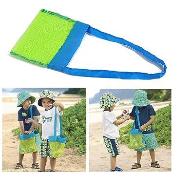1 Stück Kinder Baby Tragen Strand Spielzeug Tasche Tote Mesh