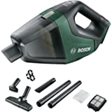 Bosch Home and Garden UniversalVac 18 Akülü El Süpürgesi, Yeşil, Akü ve Şarj Cihazı Dahil Değildir, 18 V