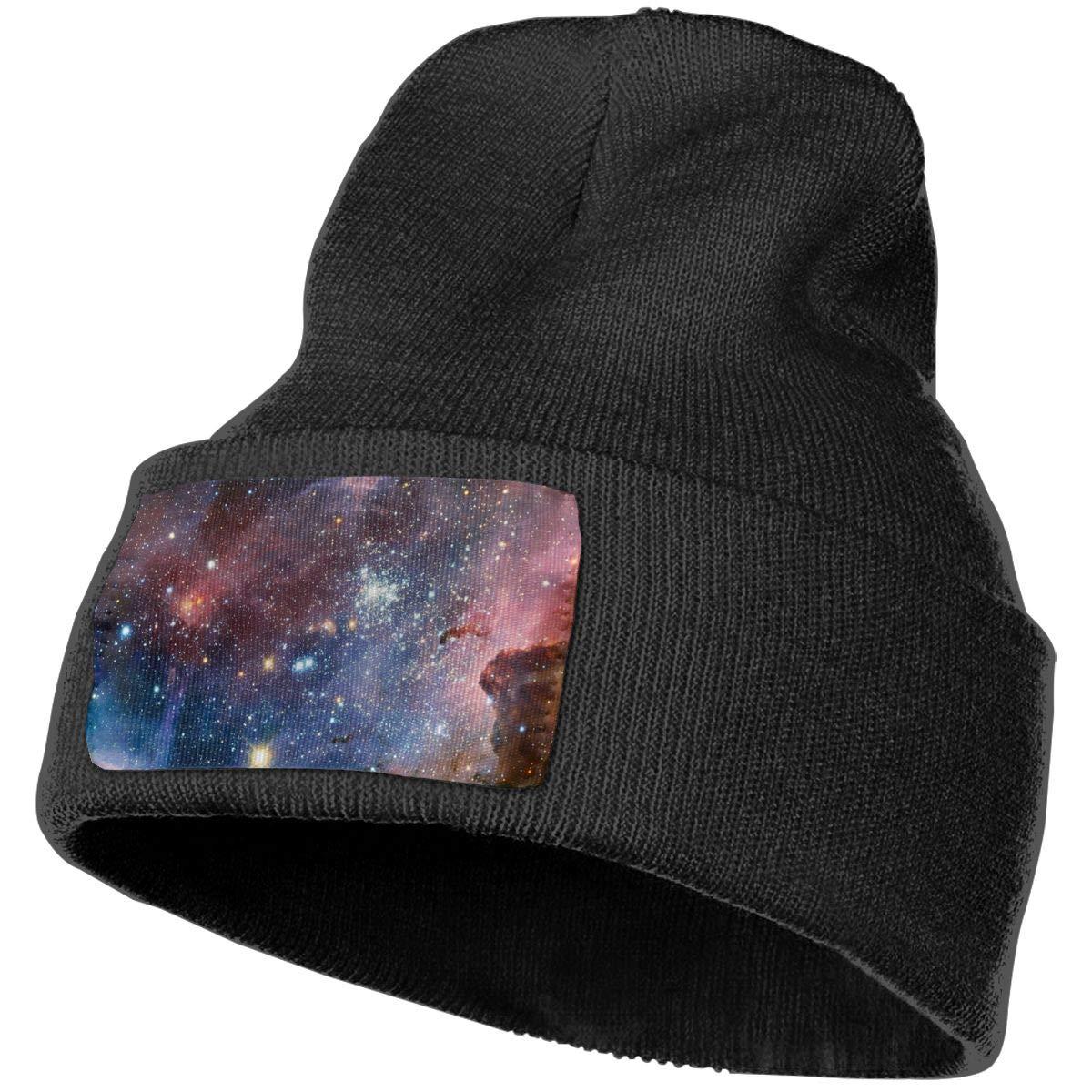 Ruin Starry Sky.png Fashion Knitting Hat for Men Women 100/% Acrylic Acid Mas Beanie Hat