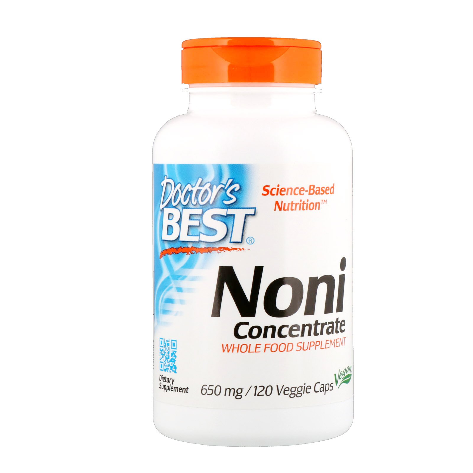 Doctor's Best Noni Concentrate (650 mg), 120 Veggie Caps by Doctor's Best (Image #1)