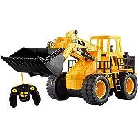 Top Race TR-113-Excavadora de Juguete Control Remoto