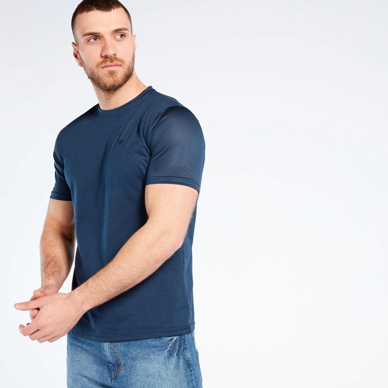 Camiseta Rejilla Azul Up Basic (Talla: S): Amazon.es: Deportes y aire libre
