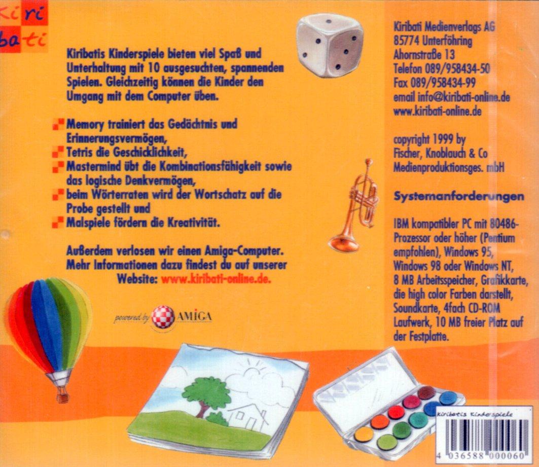 Kiribatis Kinderspiele: Amazon.de: Games