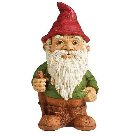 sculptural gardens standing garden gnome statuary - Garden Gnomes For Sale