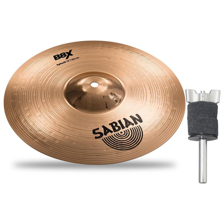 Sabian 41205X 12'' B8X SPLASH w/ Mini Cymbal Stacker