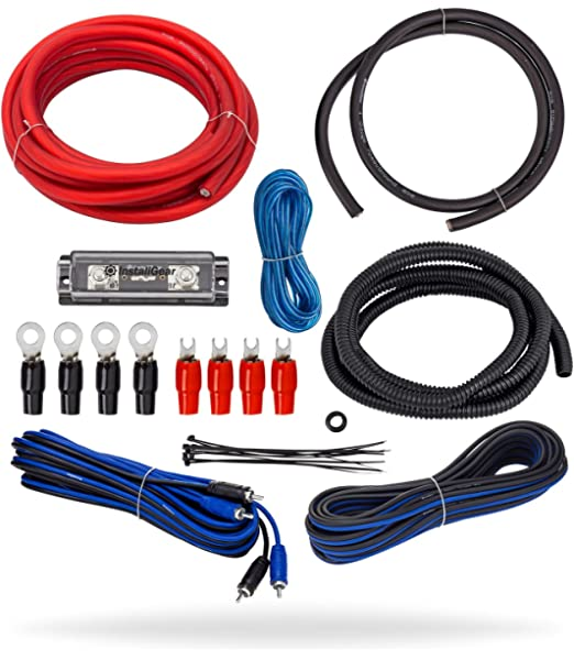 14FT Car Amplifier Installation Kits Speaker Woofer Subwoofer Cables Audio Wire